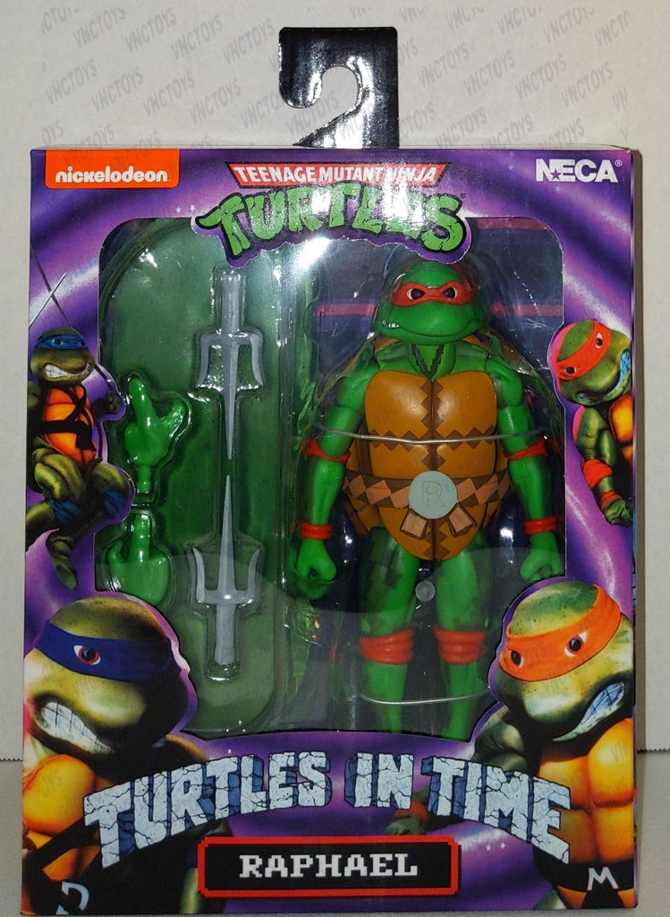 Raphael Ninja Turtles In Time 8bit Neca Figure