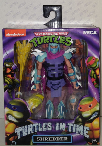 Shredder Ninja Turtles In Time 8bit Neca Figure