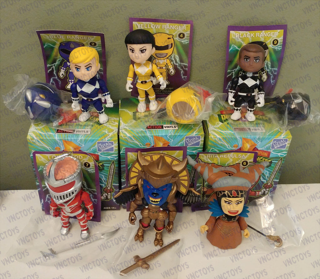 Mighty Morphin Power Rangers Loyal Subjects Figures