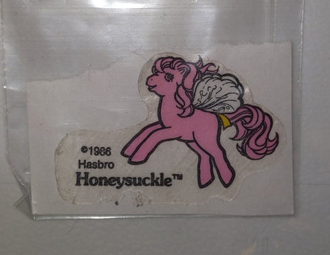 My Little Pony Vintage Honeysuckle Sticker Used