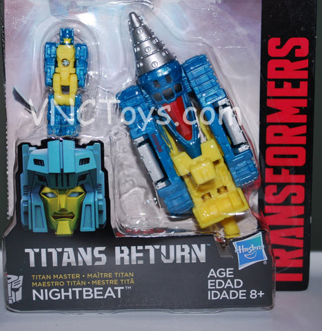 Titans Return Masters Nightbeat Transformers