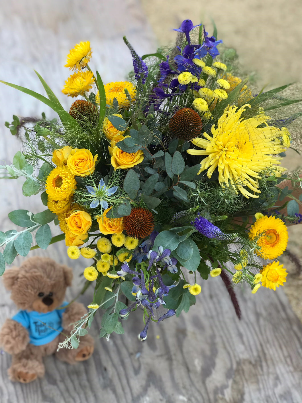 Teddy Bear Cancer Foundation Bouquet- Gift with Purpose
