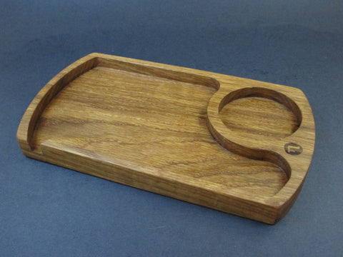 White Oak Rolling Tray
