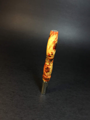 XL Galaxy Burl DynaVap Mid Section - 009 - Stabilized Burl