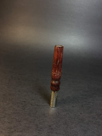 Carved Purpleheart DynaVap Mid Section - 010 - Artistically Carved