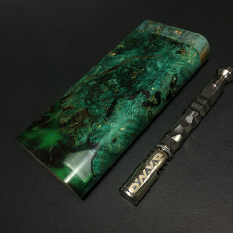 FutoStash - #009 Galaxy Burl - Glow in the Dark