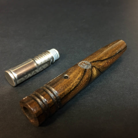 Ziricote DynaVap Mid Section - Stem - XL - Replacement Wood Section for DynaVap - Fits Steel and Titanium Tips