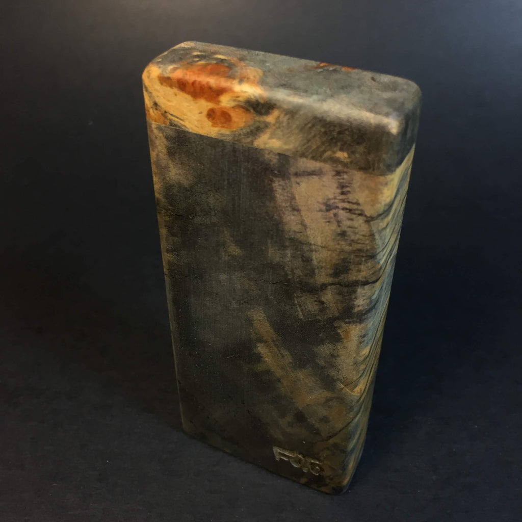 Galaxy Burl Dugout #244 - Futo Sprouts - Cottonwood Burl