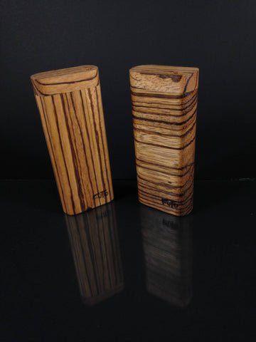 Futo M - Zebrawood Dugout  - One Hitter Box - Made in Canada
