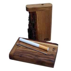 Futo X - Live Edge Dugout - One Hitter Box - Made in Canada