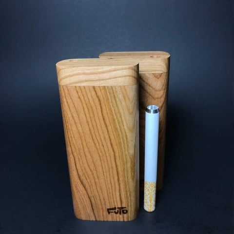 Futo M - Cherry Wood ~ One Hitter Box / Dugout- Made in Canada