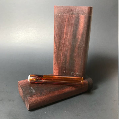 Futo GX - Katalox Dugout - Glass One Hitter Box - Made in Canada