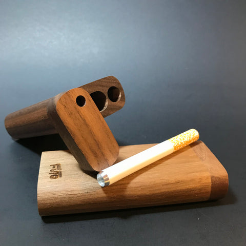 Futo M - Walnut Dugout  - One Hitter Box - Made in Canada