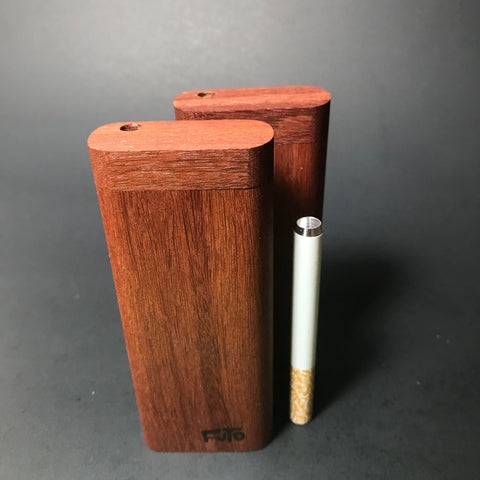 Futo M - Santos Mahogany Dugout  - One Hitter Box - Made in Canada
