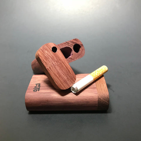 Futo M - Micro - Purpleheart Dugout - Short One Hitter Box - Made in Canada