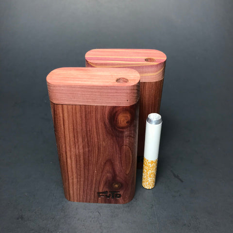Futo M - Micro - Aromatic Cedar Dugout  - Short One Hitter Box - Made in Canada
