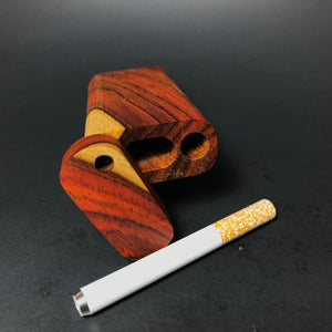 Futo M - Two Tone Cocobolo Dugout - One Hitter Box - Made in Canada