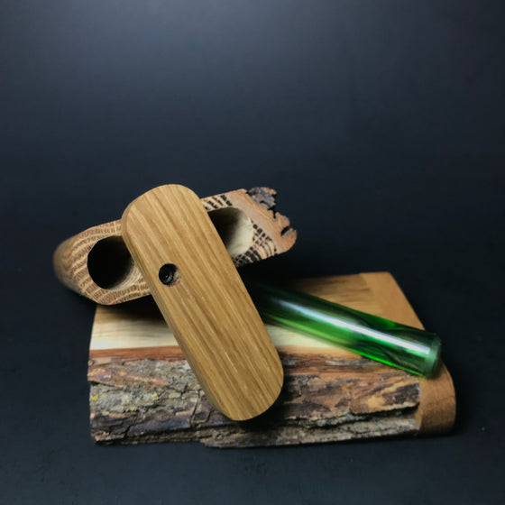 Futo GX - Live Edge Dugout - Glass One Hitter Box - Made in Canada