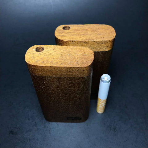 Futo M - Micro - African Walnut - Short One Hitter Box - Made in Canada