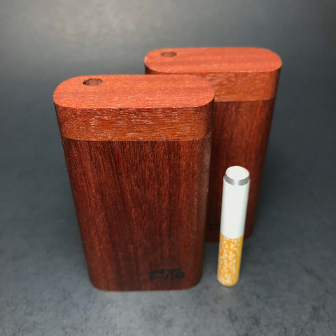 Futo M - Micro - Santos Mahogany - Short One Hitter Box - Made in Canada