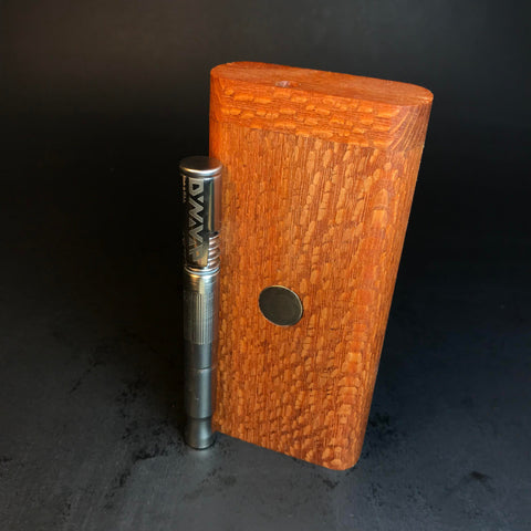 FutoStash - Leopardwood - Spotted Exotic Wood - Storage Box for DynaVap - Premium Accessory for DynaVap