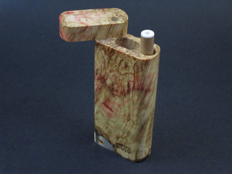 Galaxy Burl Dugout #200 - Futo Model M  - Stabilized Burl - One Hitter Box - Numbered Set - Made in Canada