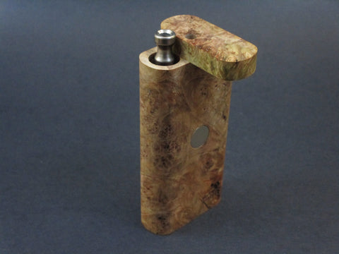 Galaxy Burl FutoStash #22 - Stabilized Burl  - Vaporizer Case - DynaVap - Numbered Set - Made in Canada
