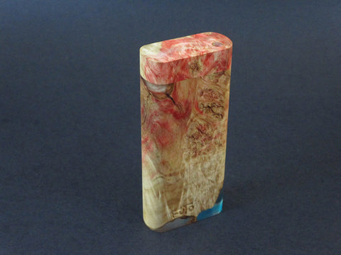 Galaxy Burl Dugout #208 - Futo Model M  - Stabilized Burl - One Hitter Box - Numbered Set - Made in Canada