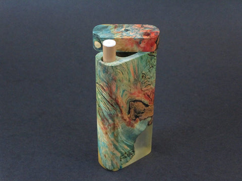Galaxy Burl Dugout #209 - Futo Model M  - Stabilized Burl - One Hitter Box - Numbered Set - Made in Canada