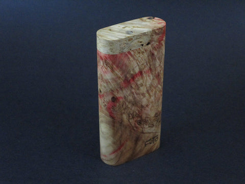 Galaxy Burl Dugout #211 - Futo Model X - Stabilized Burl - One Hitter Box - Numbered Set - Made in Canada