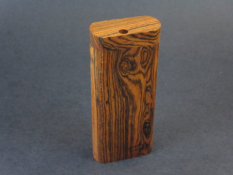 Futo G - Bocote Dugout for 12mm Glass One Hitter