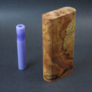 Futo GX - BC Burl - Glass One Hitter Box - Made in Canada