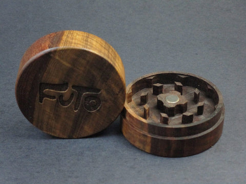 Futo Claro Walnut Grinder - Solid Exotic Wood - CNC Machined - Made in Canada
