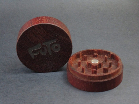 Futo Rengas Grinder - Solid Exotic Wood - CNC Machined - Made in Canada