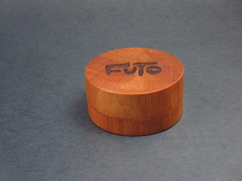 Futo African Mahogany Grinder - Solid Exotic Wood - CNC Machined - Made in Canada
