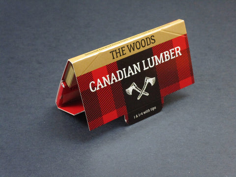 Canadian Lumber Rolling Papers - (3 Pack) - The Woods