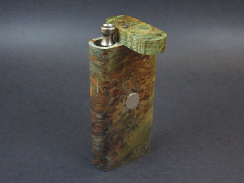 Galaxy Burl FutoStash #39 - Stabilized Burl  - Vaporizer Case - DynaVap - Numbered Set - Made in Canada
