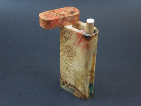 Galaxy Burl Dugout #202 - Futo Model M  - Stabilized Burl - One Hitter Box - Numbered Set - Made in Canada