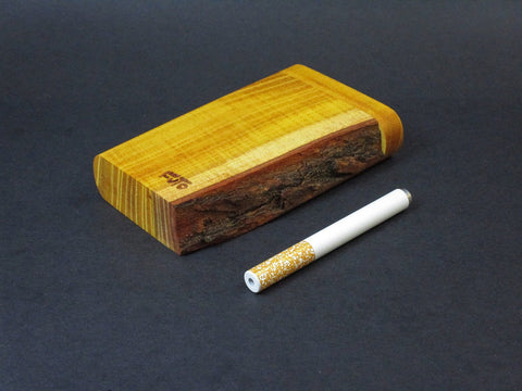 Futo X - Live Edge Osage Orange - One Hitter Boxes - Live Edge Exotic Wood - Made in Canada