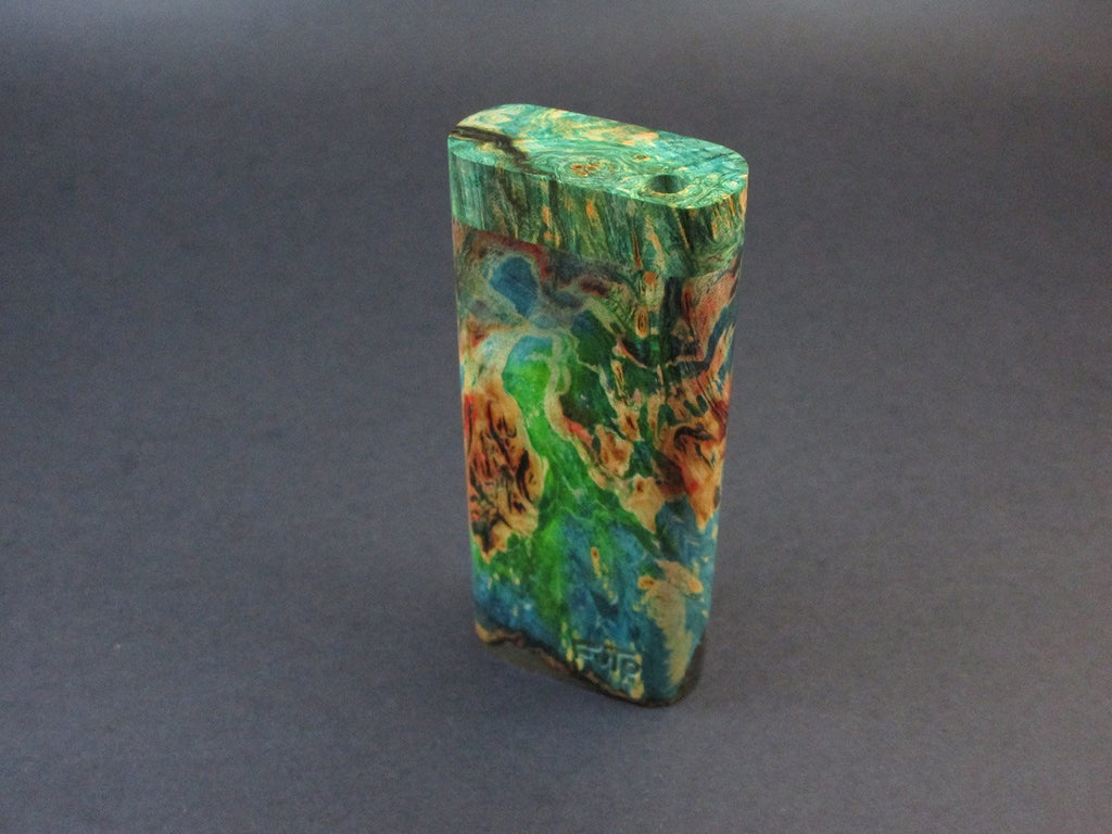 Galaxy Burl Dugout #216 - Futo Model M  - Stabilized Burl - One Hitter Box - Numbered Set - Made in Canada