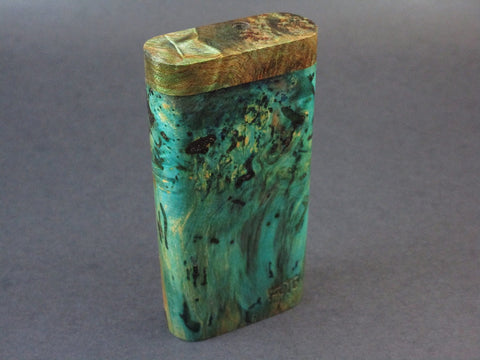 Galaxy Burl Dugout #218 - Futo Model GX - Stabilized Burl  - One Hitter Box - Numbered Set - Made in Canada
