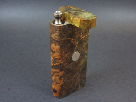 Galaxy Burl FutoStash #41 - Stabilized Burl  - Vaporizer Case - DynaVap - Numbered Set - Made in Canada