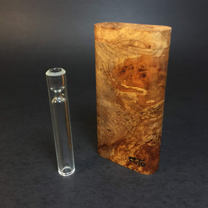 Futo GX - BC Burl Dugout - One Hitter Box - 12mm Glass