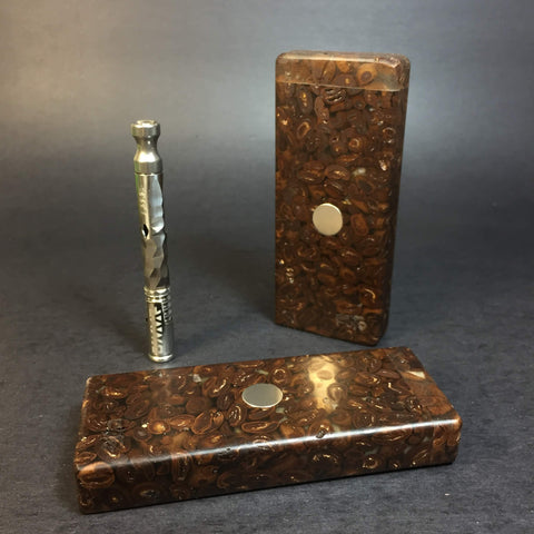 JavaStash S - Made from Coffee Beans & Resin - DynaVap Stash