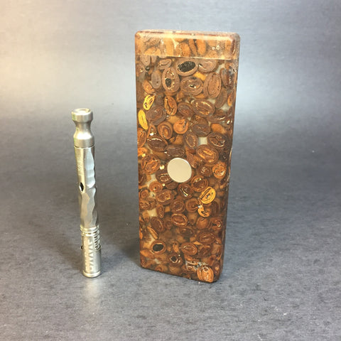 JavaStash SXL - Made from Coffee Beans & Resin - DynaVap Stash
