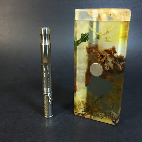 Forest Resin FutoStash S #1133 - Resin Cast - DynaVap Stash