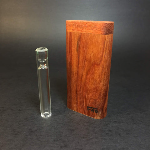 Futo GX - Canarywood Dugout - One Hitter Box - 12mm Glass