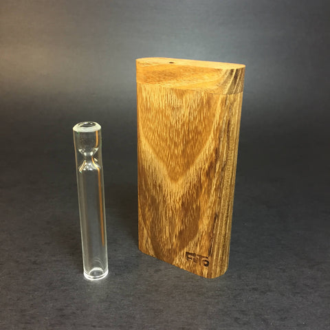 Futo GX - Black Locust Dugout - One Hitter Box - 12mm Glass