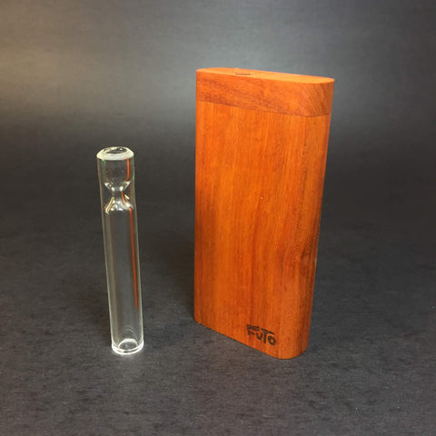 Futo GX - Paela wood Dugout - One Hitter Box - 12mm Glass