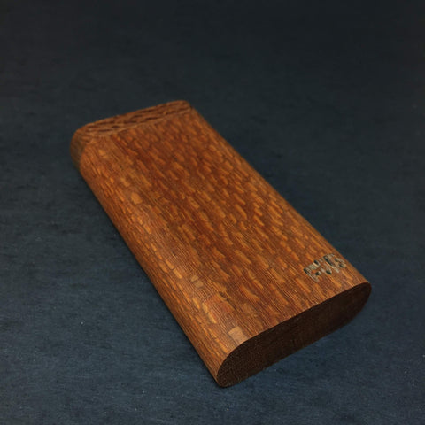 Futo GX - Leopardwood Dugout - One Hitter Box - 12mm Glass